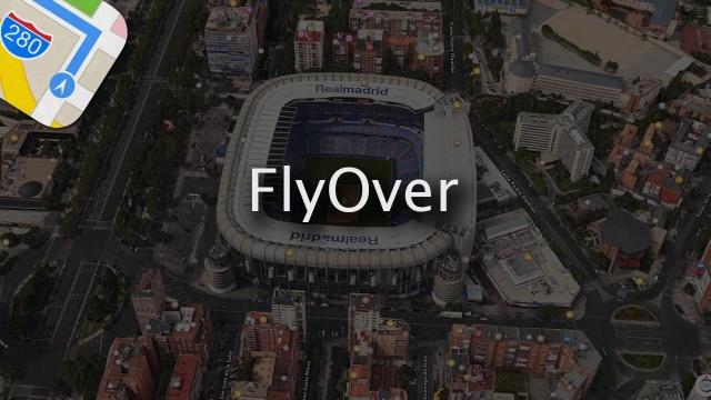 el soporte a la función Flyover