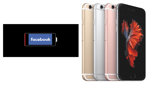 iPhone 6s Plus Bateria Facebook