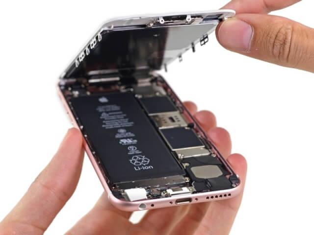 iPhone desamblado