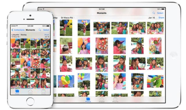 la actualización que tendrá la aplicación Photos
