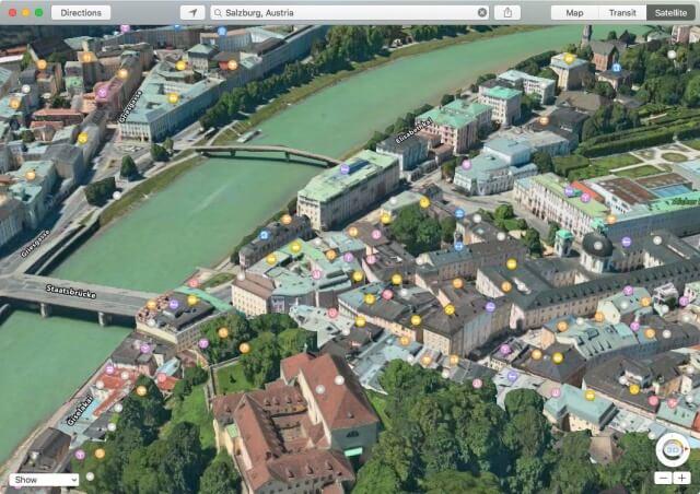 la aplicación Maps