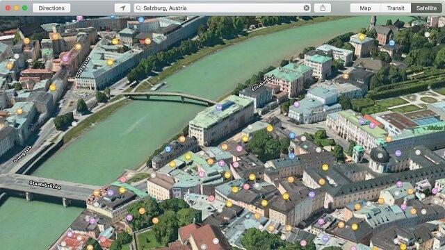 la aplicación Maps - copia