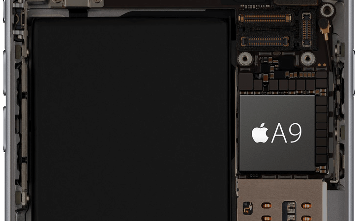 Procesador A9 del iPhone 6s