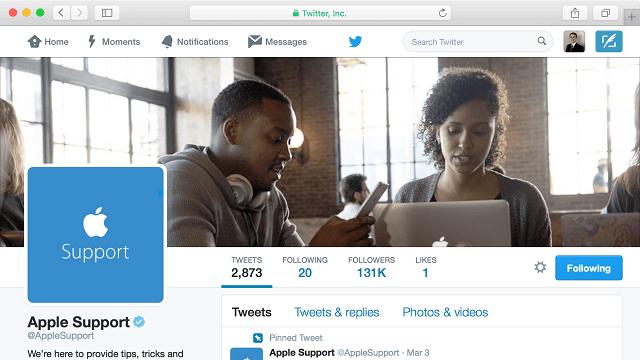 ¿Por qué hacer una cuenta de apoyo en Twitter fue una gran jugada para Apple - copia