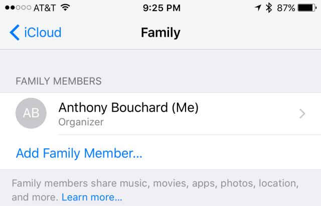 2. Añadir los miembros