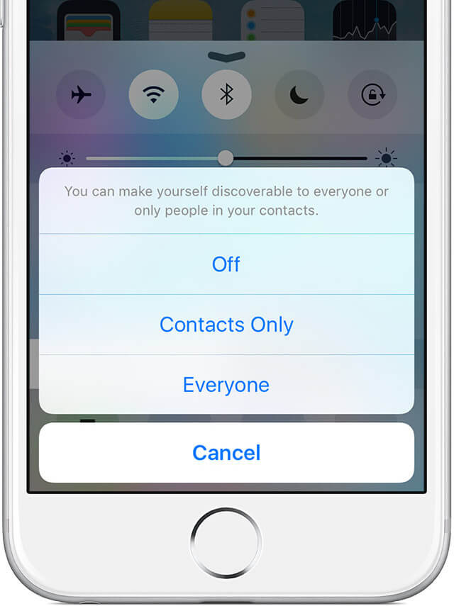 3. Compartir mensaje de voz con AirDrop