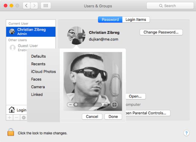 3. Seleccionar la foto de perfil