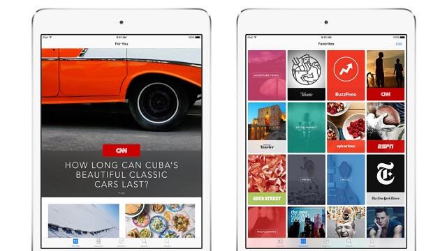 Apple News contará con posts patrocinados