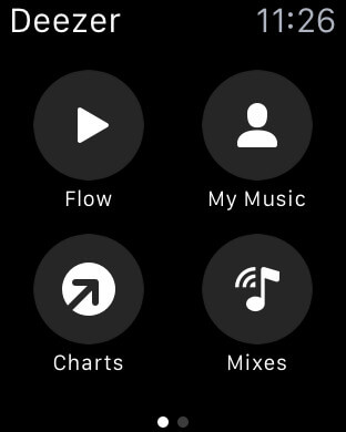 Deezer Music App Store Apple Watch