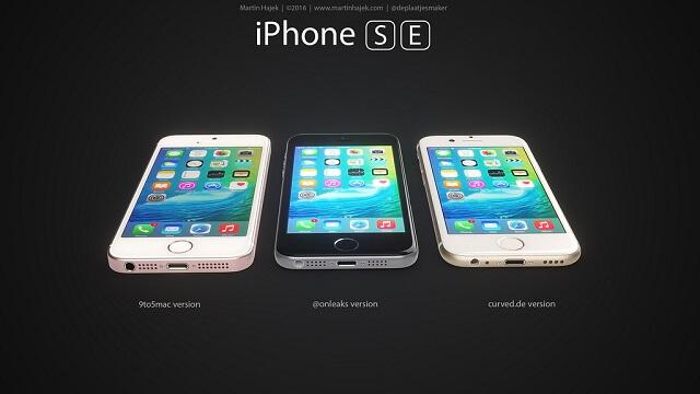 El iPhone SE lucirá casi igual que el iPhone 5s