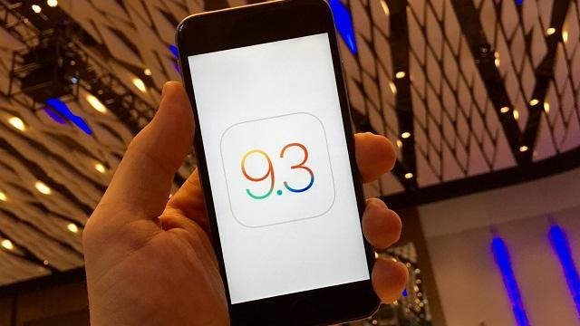 El nuevo iOS 9.3 traerá a los usuarios nuevas capacidades