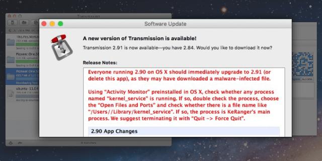 El primer OS X ransomware detectado en la naturaleza, cifrará unidades de disco duro en Macs infectados