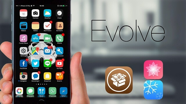 Evolve Tema iOS Anemone