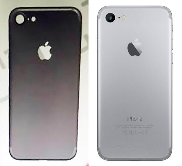 Posible chasís de iPhone 7