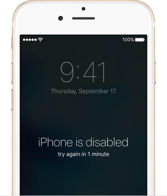 Qué hacer si se le ha olvidado el código de acceso de su iPhone
