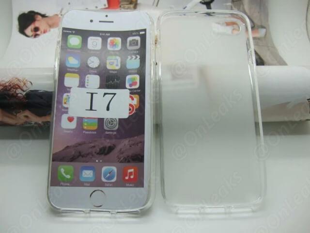 Se filtran imágenes de un case para iPhone 7