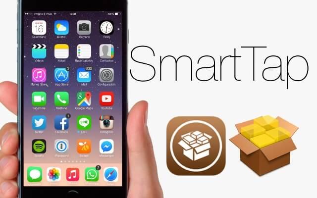 SmartTap  Bloquea y prende la pantalla facil y rápido  Cydia iOS 9