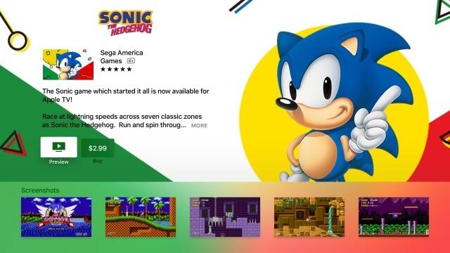 Sonic retoma sus aventuras a toda velocidad en el Apple TV
