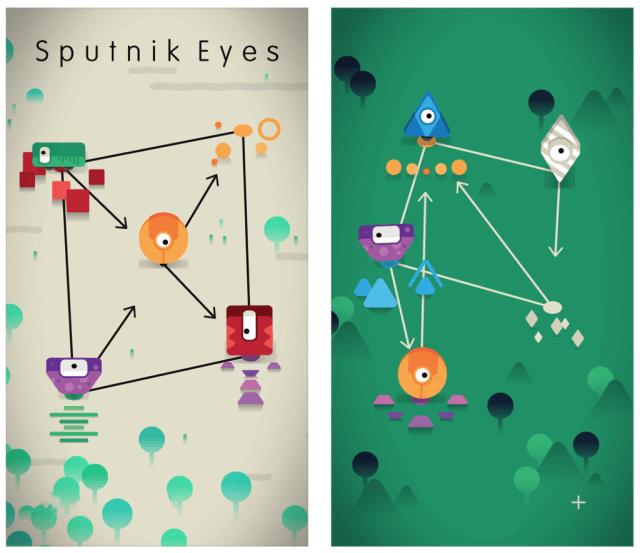 Sputnik Eyes en la aplicación gratuita de la semana de Apple