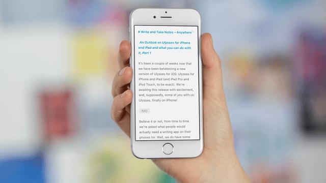 Ulysses Aplicacion iPhone iOS