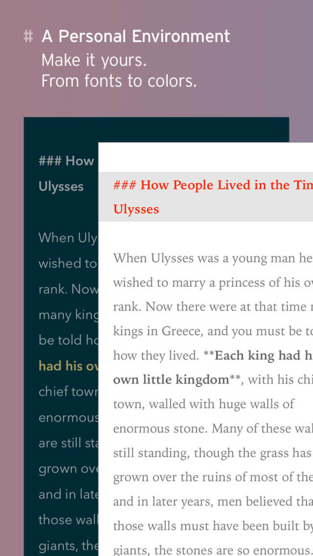 Ulysses para iPhone y iPad (5)