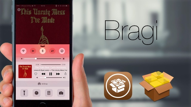 Bragi: Cambia el reproductor del CC y más en iOS 9