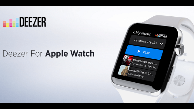 deezer music para apple watch