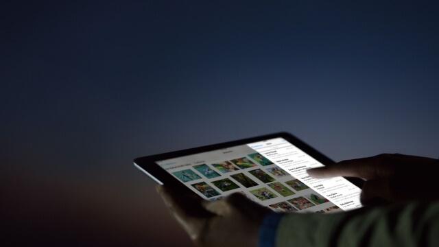 en el perfil de configuración de Apple