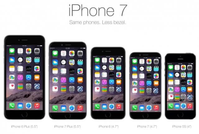 iPhone 7 vs otros iPhone's