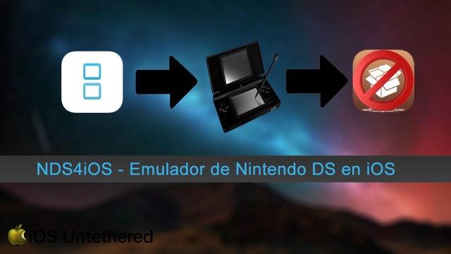 NDS4iOS – Emulador de Nintendo DS para iOS 9.3.X (Sin Jailbreak)