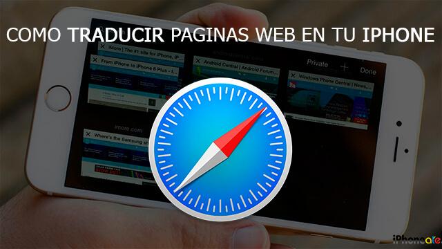 Portada - Traducir paginas web en un iPhone