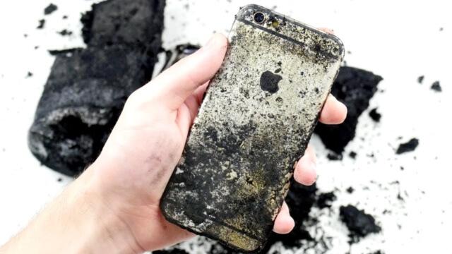 iPhone 6S vs Ácido Sulfúrico