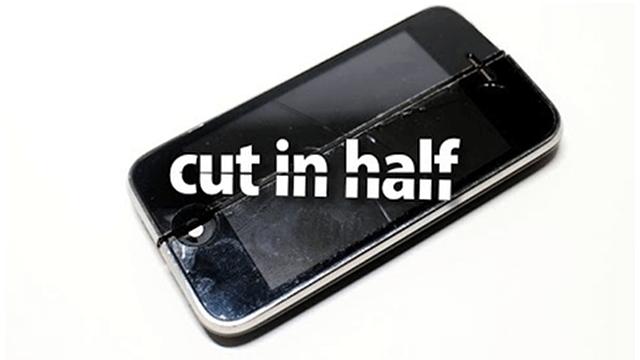iphone cortado