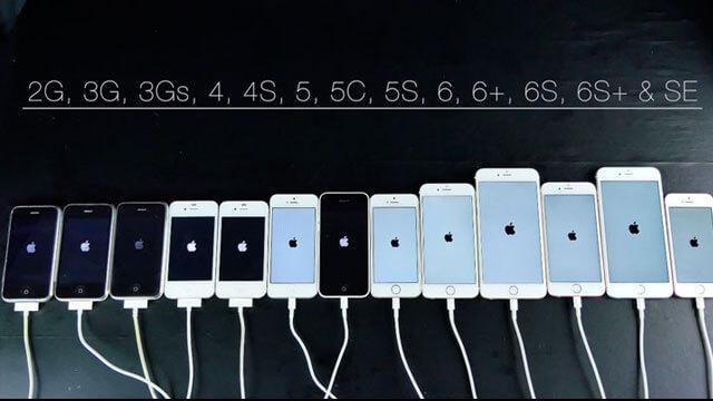 Prueba de velocidad de todos los iPhone version 2016 ...