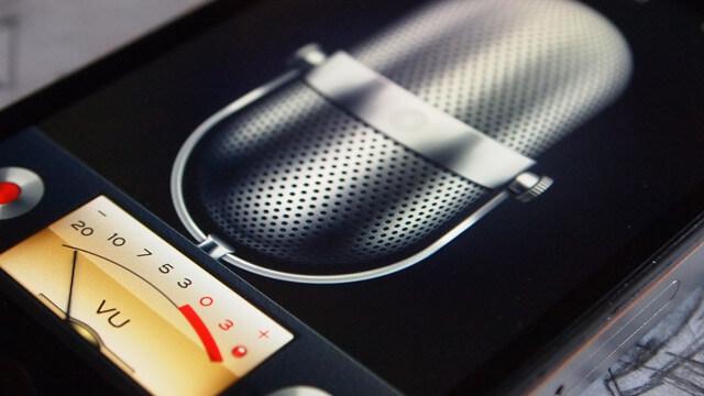voice memo iphone