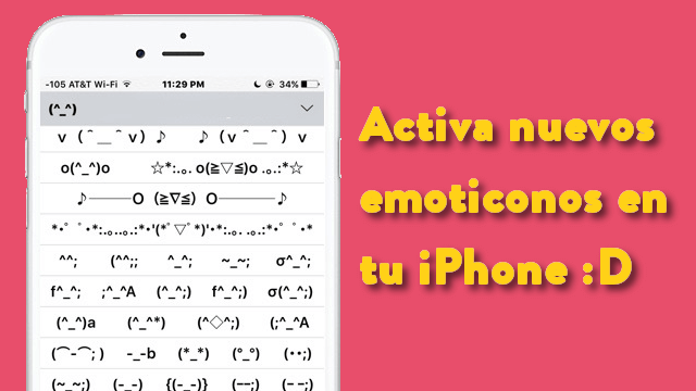 emoticonos iPhone