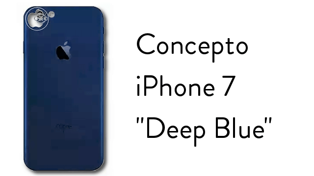 iPhone Deep Blue