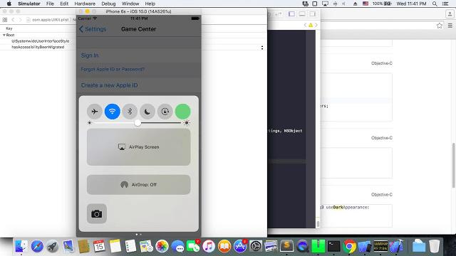 modo datos iOS 10
