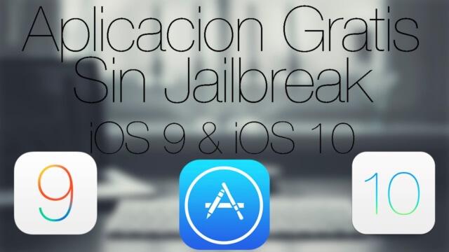 Aplicaciones Gratis en iOS 9 y iOS 10