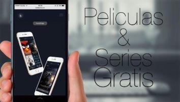 Películas y series gratis desde nuestro iPhone o iPad