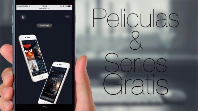 Películas y series gratuitas desde vuestro iPhone u iPad