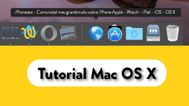 tutorial mac