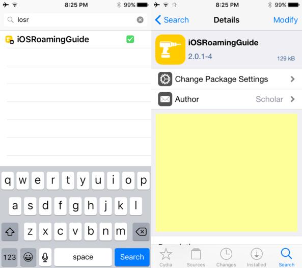 Installing-iOSRoamingGuide-Cydia-593x526