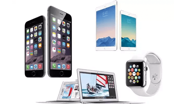 apple productos