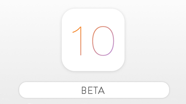 ios diez beta