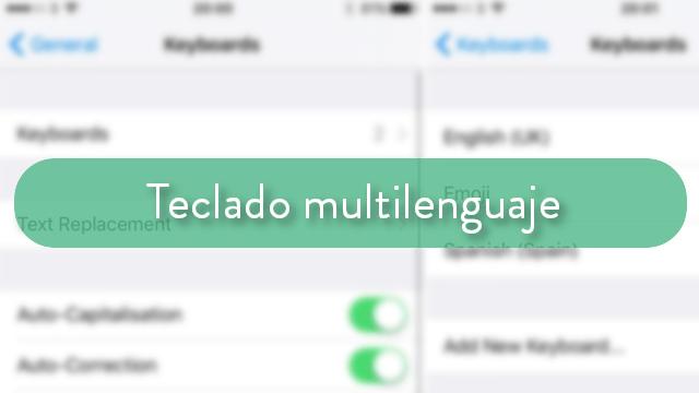 teclado multilenguaje