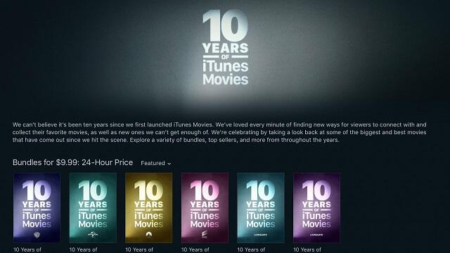 iTunes Movies
