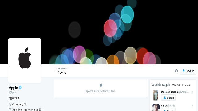 Apple Twitter Oficial