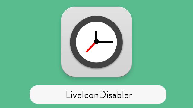 LiveIconDisabler