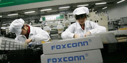 Trabajadores de Foxconn recibirán bonos de pago